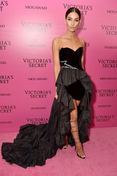 Lily Aldridge inAlexandre Vauthierat the 2017 Victoria's Secret Fashion Show After Party