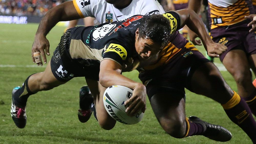 Martin fires Panthers to win on debut