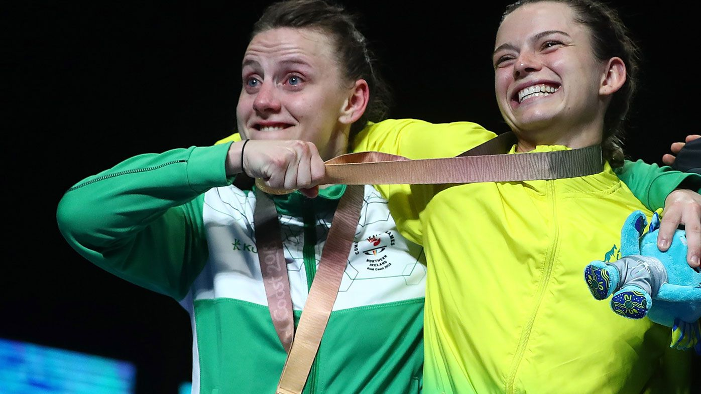 Skye Nicolson wins emotional boxing gold at Games amid claims of bias