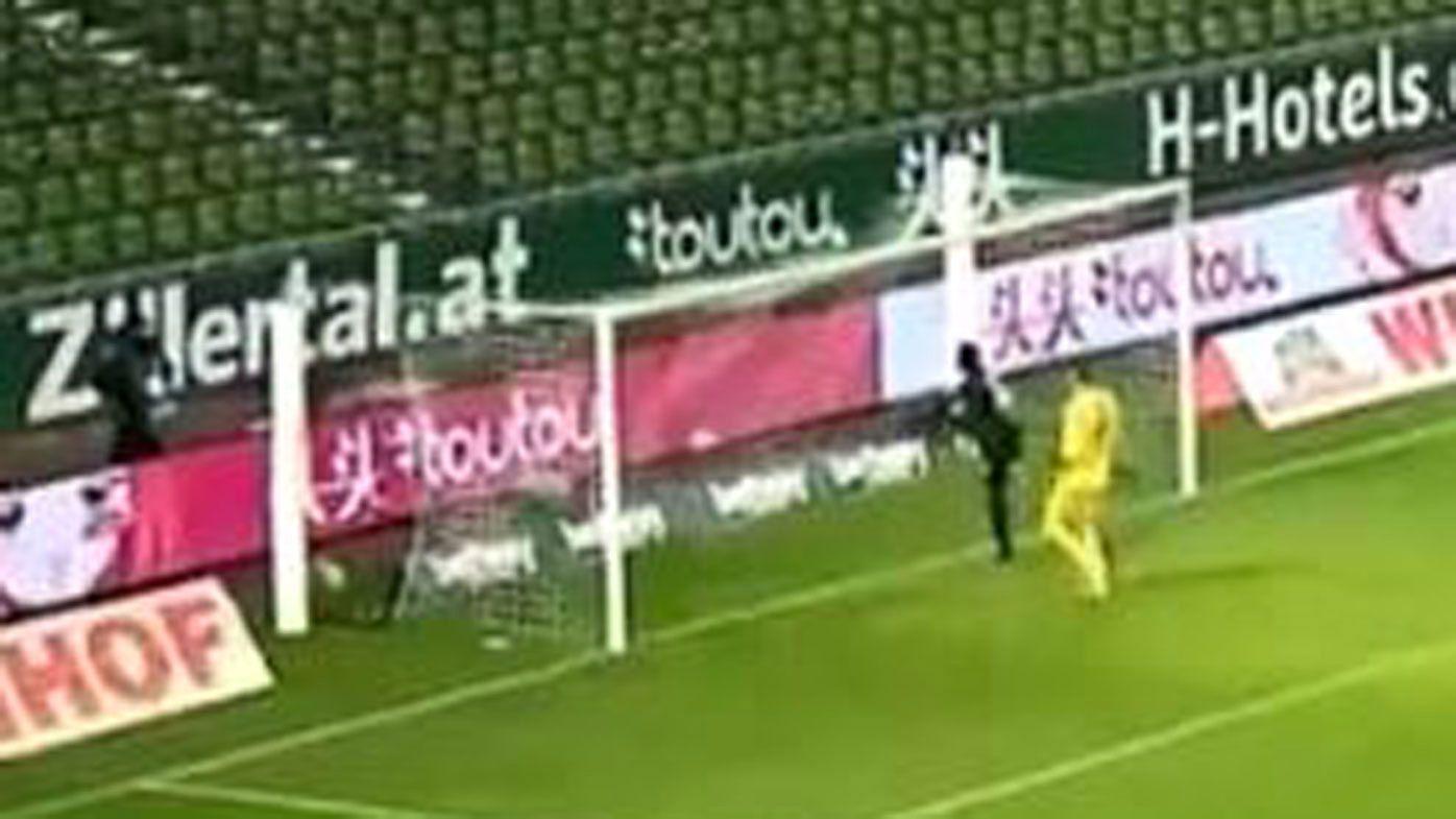 Silas Wamangituka infuriates Bundesliga opponents with 'disrespectful' goal finish