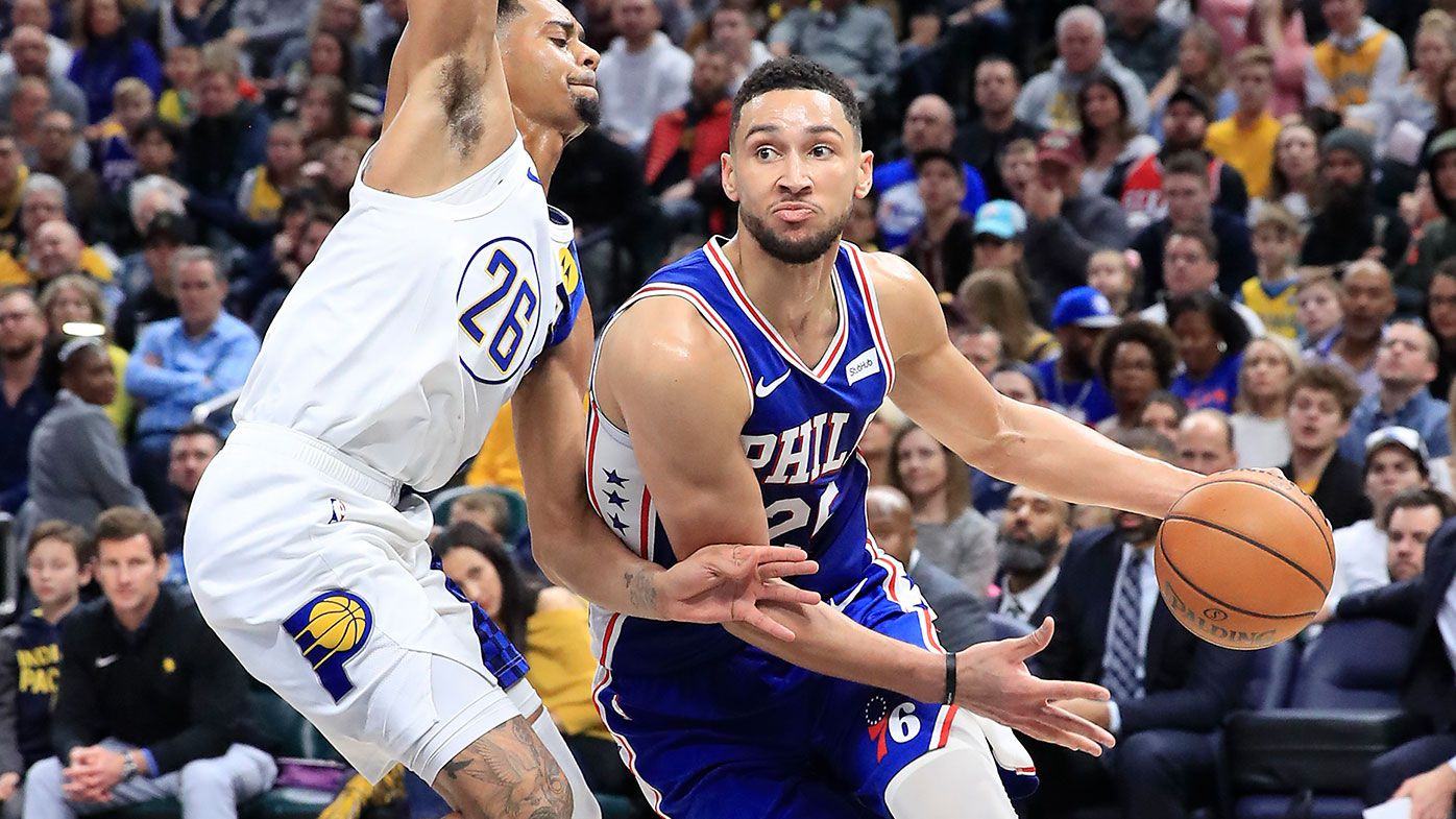 Indiana Pacers thump the Philadelphia 76ers