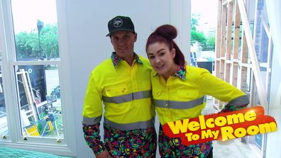Welcome To My Room: Jimmy and Tam show off the features of their winning Guest Bedroom