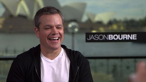 Matt Damon cringes at TheFIX's surprise teenage flashback