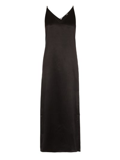 "<a href=""http://www.matchesfashion.com/au/products/Equipment-Racquel-silk-slip-dress-1040006"" target=""_blank"">Dress, $830, Equipment at matchesfashion.com</a>"