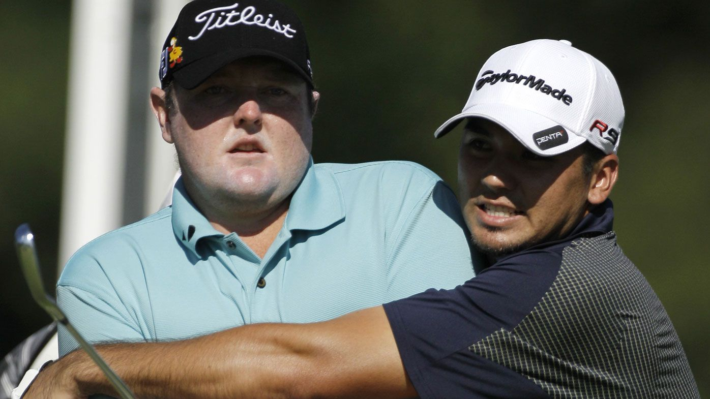 Jarrod Lyle and Jason Day