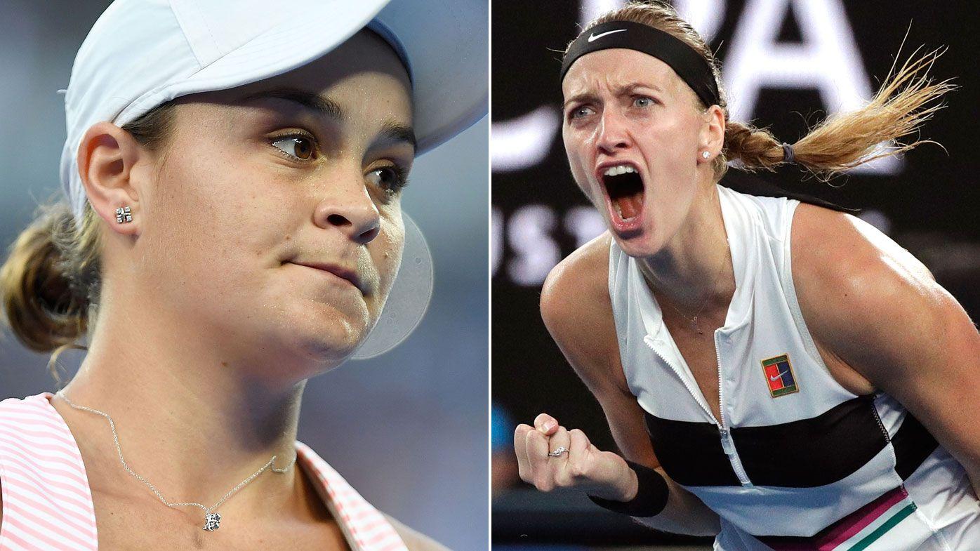 Australian Open 2019: did Ash Barty 'murmur' fire up opponent Petra Kvitova?