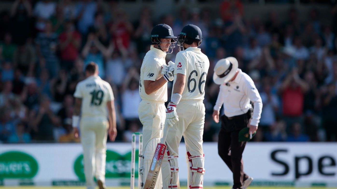 Full day three highlights: Root, Denly fight to keep England alive