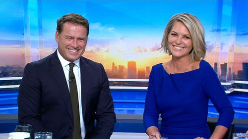 TODAY viewers woke up with the new co-host this morning. (Channel 9)