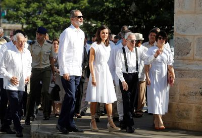 Queen Letizia and King Felipe visit Cuba, November 2019