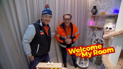 Welcome To My Room: Mitch and Mark show off their 'cosy' kids' bedroom