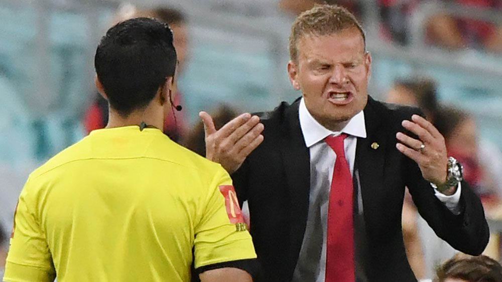 Western Sydney Wanderers coach Josep Gombau not feeling the A-League pressure