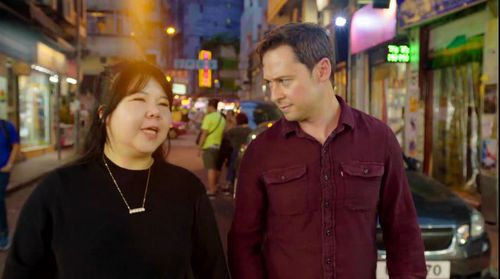 Jenny Jiang with journalist Nick McKenzie