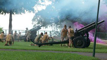 Veterans commemorate 76th anniversary of Bombing of Darwin