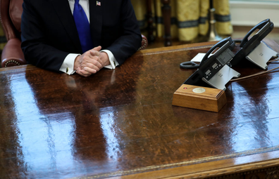 Donald Trump's Diet Coke button
