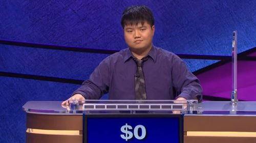 Jeopardy genius pokes fun at loss with song