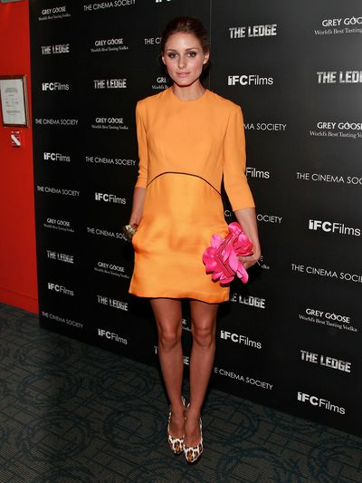 Fashion blogger and stylist Olivia Palermo at a screening of <em>The Ledge</em> in New York, June, 2011