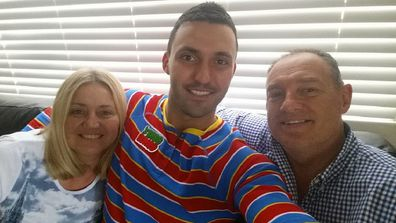 Nic from MAFS with parents