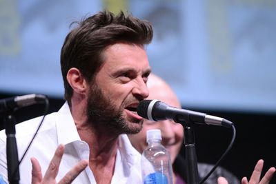 But the most hilarious celeb cosplayer was <b>Hugh Jackman</b> who dressed as Wolverine and NOBODY RECOGNISED HIM!
