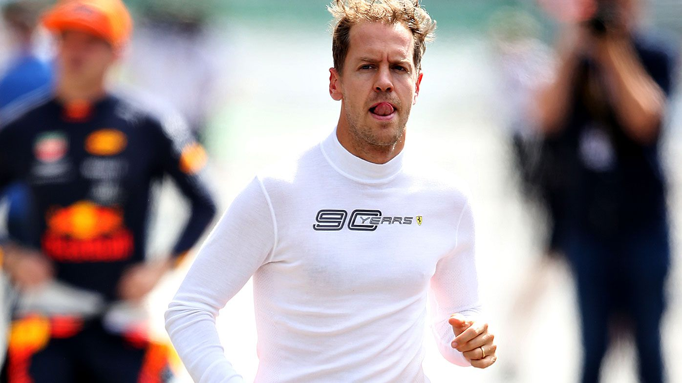 Sebastian Vettel signs with Aston Martin Racing for 2021 Formula One season