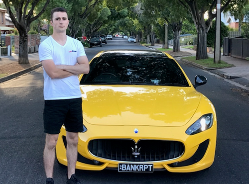 Kane Ellis bought this $200,000 Maserati after making a successful investment in Bitcoin.