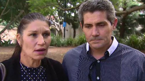 Elana Jeffery and Chris Allen say they've lost faith in the justice system. Picture: 9NEWS