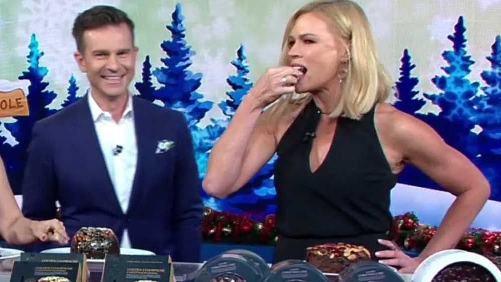 Sonia Kruger and the $120 Christmas cake
