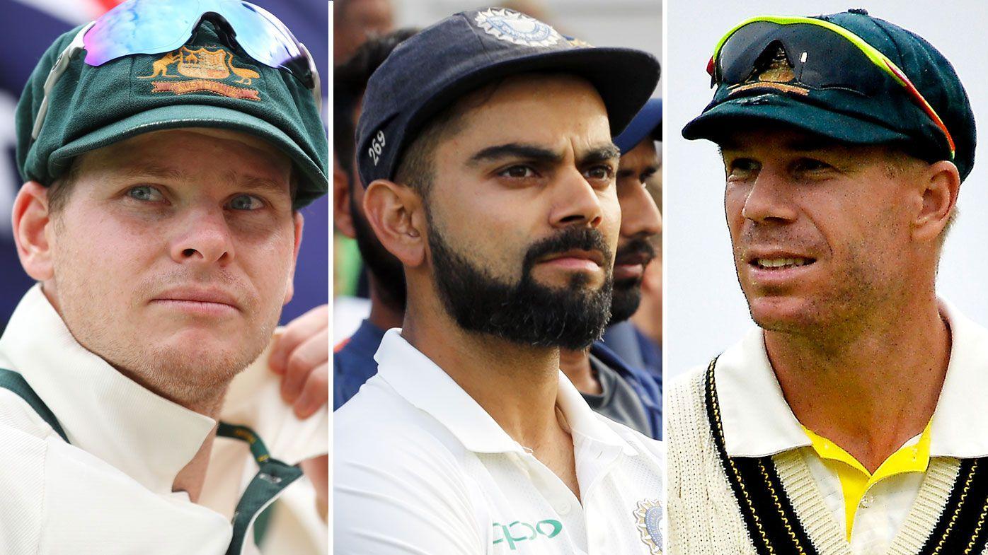 Smith, Kohli and Warner