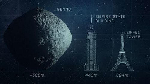 Asteroid Bennu could one day hit Earth and US-funded space agency NASA have designed a spacecraft to knock it off course or blow it up using nuclear weapons. Picture: NASA.