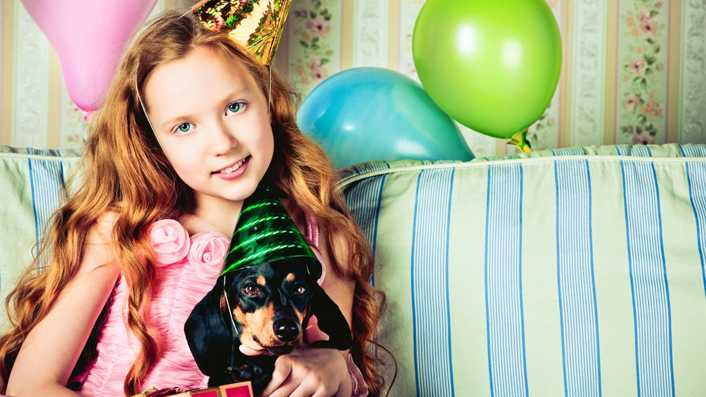 Party time: wealthy parents are hiring expensive stylists to plan their children's parties. Image: Getty