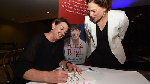 Bligh launches book in Brisbane three years after election defeat