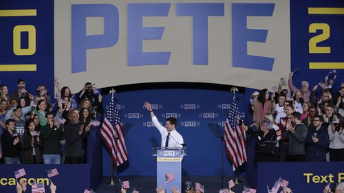 News World USA presidential campaign 2020 Pete Buttigieg