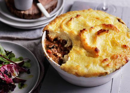 Lamb neck shepherd's pie