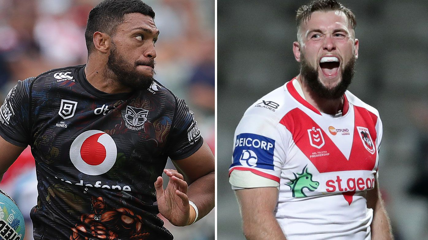 South Sydney swoop on Jacob Host and Taane Milne