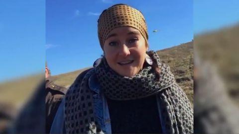 Shailene Woodley arrested during North Dakota protest