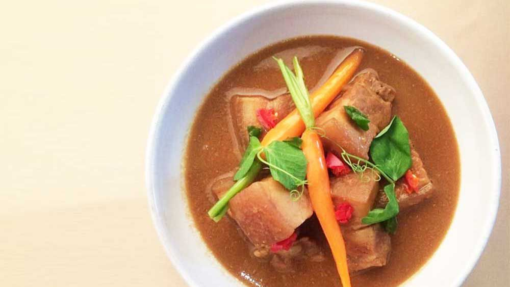 Malcolm Lee's babi pongteh (Peranakan style slow braised pork)