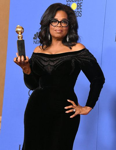 """<p>When&nbsp;Oprah Winfrey&nbsp;speaks the world listens. Point in case,<a href=""""https://style.nine.com.au/2018/01/08/09/34/golden-globes-2018-red-carpet"""" target=""""_blank""""> this week'sGolden Globes ceremony</a> where the talk show queen stole the show with her emotive and passionate speech while accepting the Cecil B. DeMille Award.</p> <p>While the world debates whether or not Winfrey will be running for US president in 2020, we have selected some of our favourite O beauty style moments to mark the 63-year-old's career milestone.</p> <p>From her days as newsreader in Baltimore where she first rose to public prominence in the '80s with a frizzy perm and bright pantsuit, to a powerful media magnet with a voluminous blowout and love of off-the shoulder dresses.</p> <p>Click through to see the style evolution of Oprah Winfrey.</p>"""