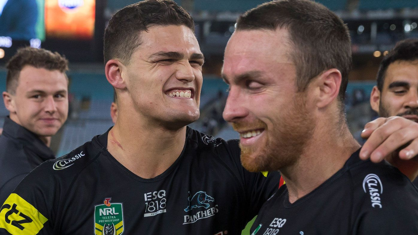 Nathan Cleary and James Maloney