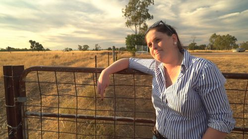 Britt Stuart said she thought her life was over when they were evicted from their land.