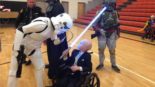 Star Wars themed party a hit. (Maryann Reimund/Facebook)