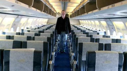 Man boards international flight and discovers he is the only passenger