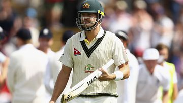Shane Watson has been axed from the Australian XI for the Second Test at Lord's. (AAP)
