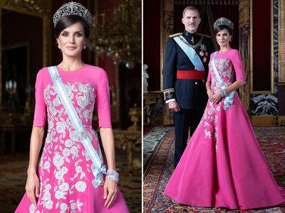 New portraits released of Spain's royal family, February 2020