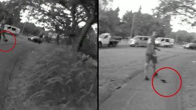 Hero security guard makes citizen's arrest