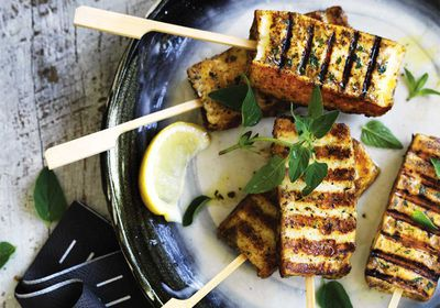 """Recipe: <a href=""""https://kitchen.nine.com.au/2017/04/10/10/40/will-and-steve-haloumi-popsicles"""" target=""""_top"""">Will and Steve's haloumi popsicles</a>"""