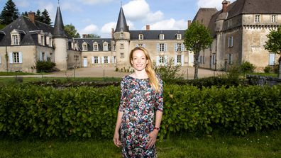 Stephanie Jarvis pooled her resources with her ex and decided to buy a chateau with him.