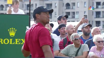Golf: Unruly fan throws-off Tiger Woods despite respectable performance at British Open