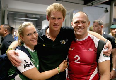 Prince Harry World Cup Japan Zara Mike Tindall
