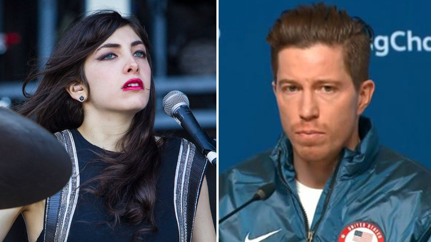 Lena Zawaideh and Shaun White.