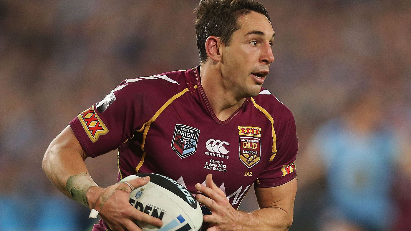 Billy Slater jokes that Paul Vautin would coach his all-time Maroons squad after snubbing QLD legend