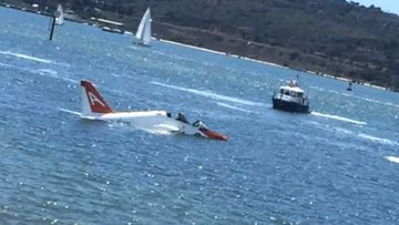 Pilot pulled from water after military jet crashes into San Diego Bay